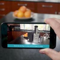 Amazon in Realtà aumentata:  un'app per provare i prodotti in casa, come Ikea