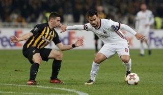 Europa League, AEK Atene-Milan 0-0: qualificazione rimandata per i rossoneri