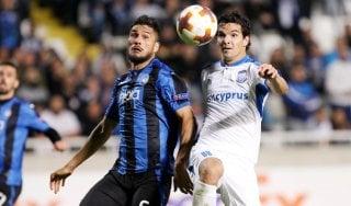 Apollon-Atalanta 1-1: Zelaya beffa i nerazzurri, qualificazione rimandata