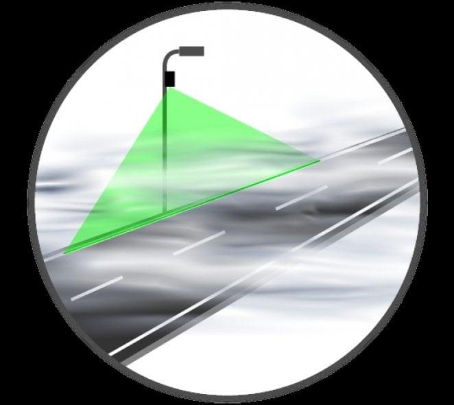LaserAid, visibilità assicurata in caso di nebbia