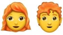L'anno prossimo arrivano le faccine coi capelli rossi