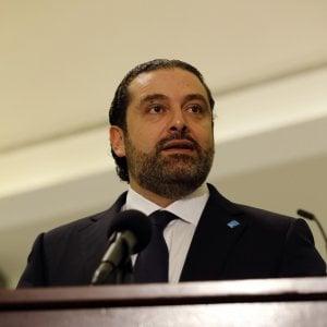 Libano, il premier Hariri si dimette e accusa l'Iran