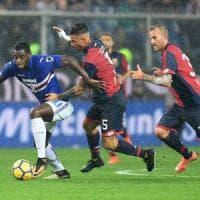 Le pagelle di Genoa-Sampdoria: Lapadula inconcludente, Zapata incontenibile
