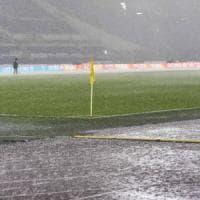 All'Olimpico vince la pioggia: rinviata Lazio-Udinese