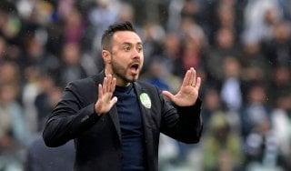 """Benevento, De Zerbi: """"Juve proibitiva per noi, dopo la sosta un campionato diverso"""""""