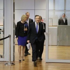 Banche, Draghi sulle sofferenze: Il problema più importante, affrontarlo ora