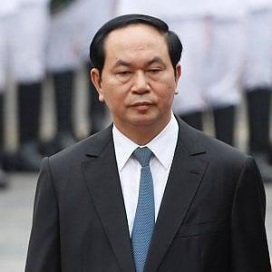 Il presidente vietnamita Tran Dai Quang