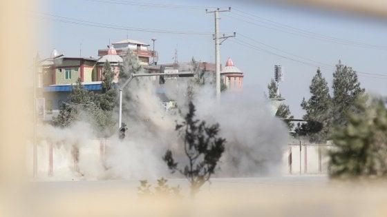 Kabul, attacco alla televisione:  morti e feriti