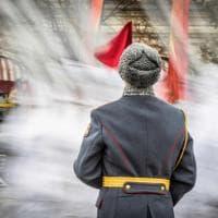 Mosca, cent'anni dalla rivoluzione: la parata è nostalgica