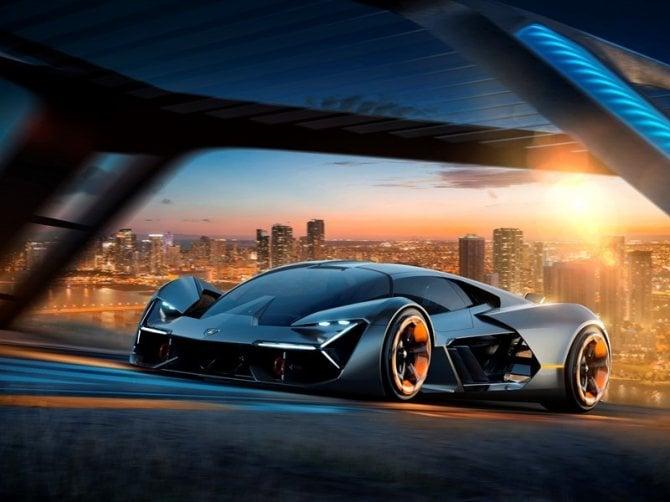 La Lamborghini del futuro