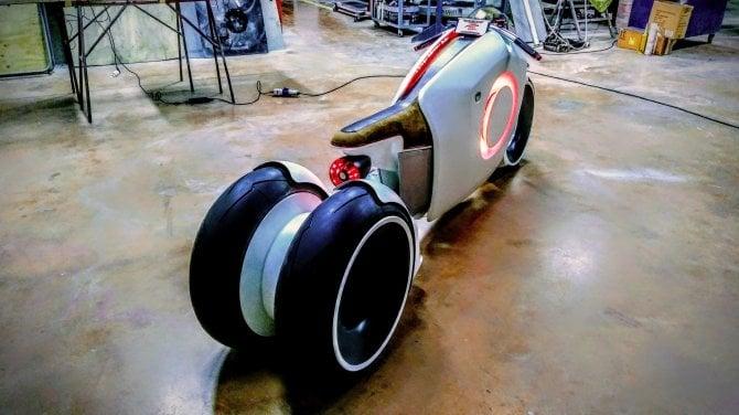 Vodafone GigaBike, la concept della moto del futuro