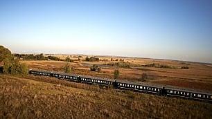 Sudafrica. Dal treno