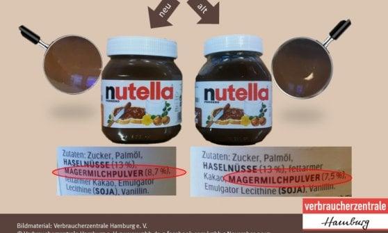 Più zucchero e latte in polvere, la Nutella ha cambiato ricetta