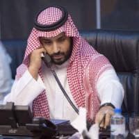 L'elicottero del principe bin Muqrin