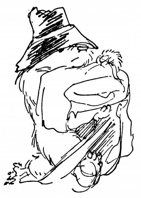 Paddington torna al cinema, le illustrazioni originali di Peggy Fortnum