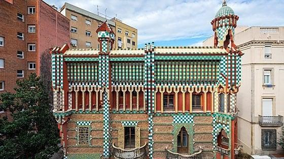 """Casa Vicens. La Barcellona dell'autunno caldo riparte dal gioiello """"segreto"""" di Gaudí"""