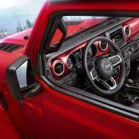 Prime immagini degli interni della nuova Jeep Wrangler