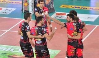 Volley, preliminare Champions: Perugia passa in Bielorussia e ipoteca la fase a gironi