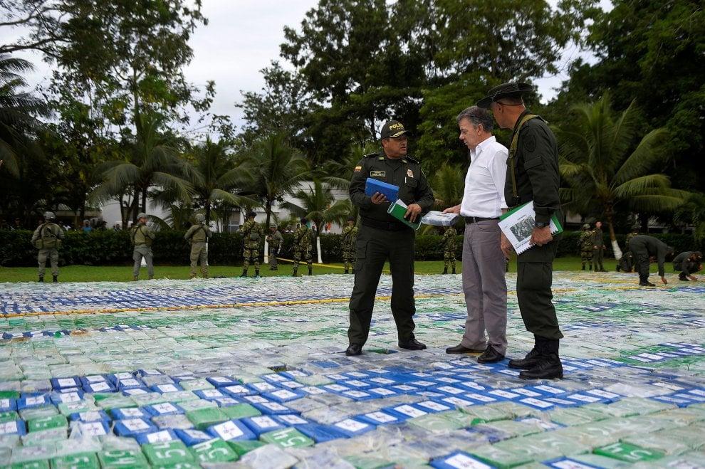 Colombia, sequestro record di cocaina: 12 tonnellate, vale 360 milioni di dollari