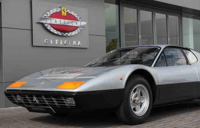 Officina Ferrari Classiche, che passione