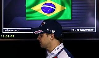 F1, Gp Brasile;  l'ultima gara di Massa: ''Coronato un sogno, lascio a testa alta''