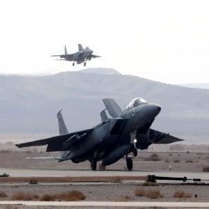 Israele si addestra a una guerra con l'Iran assieme agli aerei di Usa, Italia e Germania