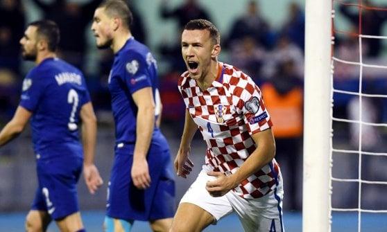 Mondiali 2018, playoff: Croazia travolge Grecia, Svizzera passa in Irlanda del Nord