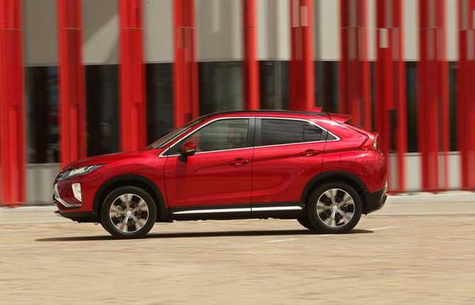 Mitsubishi, al via la prevendita di Eclipse Cross