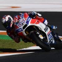 MotoGp, Valencia: Lorenzo davanti a tutti nelle libere, Dovizioso precede Marquez