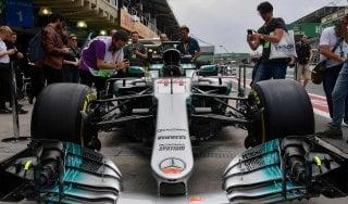 F1, Gp Brasile: Hamilton vola nelle libere, Vettel è quarto