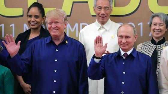Al vertice Apec Trump mette in scena il funerale della globalizzazione