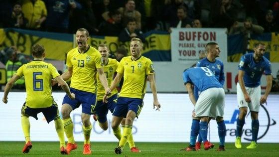 Svezia-Italia 1-0, si complica la corsa azzurra al Mondiale