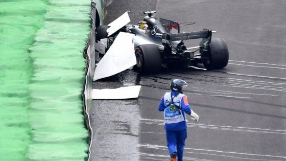 Gp Brasile, Bottas in pole: anche Vettel in prima fila. Hamilton partirà ultimo