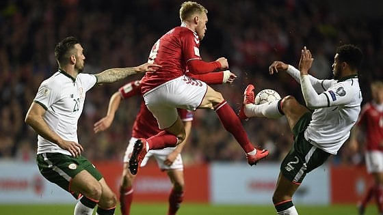 Mondiali 2018, senza reti l'andata dei playoff tra Danimarca e Irlanda