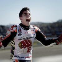 MotoGp, Marquez mondiale: la festa