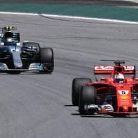 F1, Vettel vince il Gp Brasile. Anche Raikkonen sul podio: è terzo