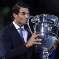 Tennis, classifiche: Nadal e Halep numeri 1 di fine anno, Fognini migliore degli azzurri