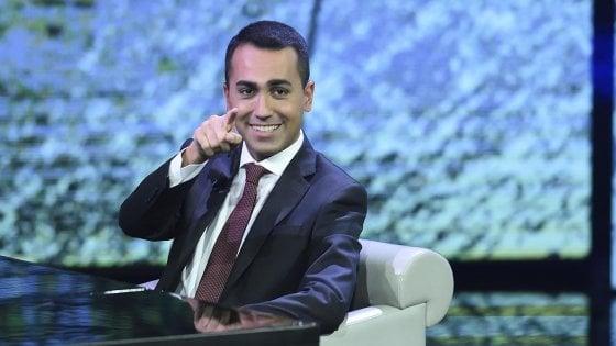 """Di Maio, nuova gaffe a Che tempo che fa: """"I miei alter ego.."""""""
