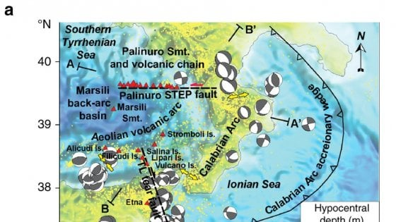 Scoperti nel Tirreno sette nuovi vulcani sommersi