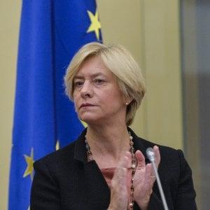 La ministra Pinotti