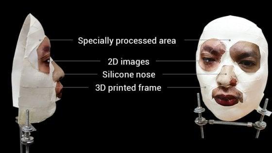 L'iPhoneX sbloccato con una maschera stampata in 3D