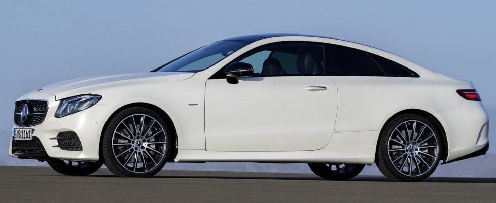 Classe E coupé, tutta la Mercedes che c'è