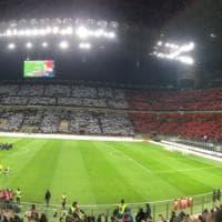 Italia-Svezia, un enorme tricolore per spingere gli azzurri: la coreografia di San Siro