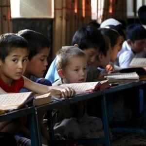 Infanzia a rischio, presentano l'8a edizione dell'Atlante che ne parla, quest'anno dedicato alla scuola