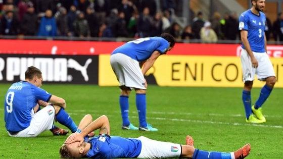 Italia-Svezia 0-0, azzurri fuori dai mondiali