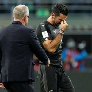 """Italia eliminata, Buffon: """"E' un fallimento anche sociale"""""""