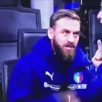 Nazionale, lite De Rossi:
