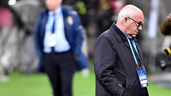 Italia-Svezia, Tavecchio non si dimette. Ventura non è più il ct