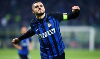 Inter, Icardi torna in gruppo e 'vede' l'Atalanta