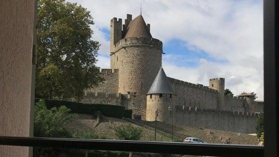 La finestra su Carcassonne